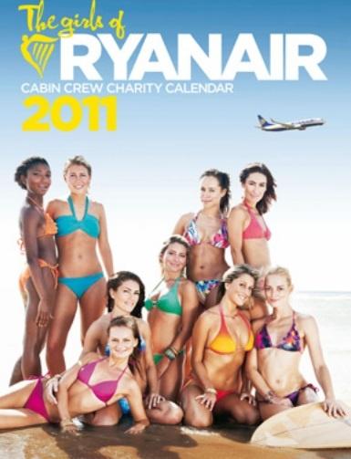Ryanair Cabin Crew Charity Calendar 2011
